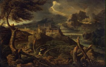 Landscape with Lightning | Dughet Gaspard (Gaspard Poussin) | oil painting