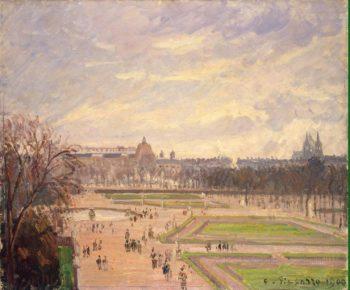 Tuileries Gardens | Pissarro Camille | oil painting