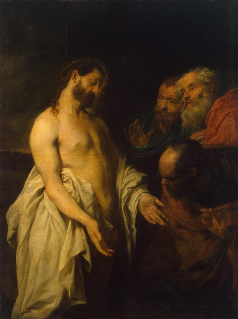Appearance of Christ to his Disciples | Anthony van Dyck | oil painting