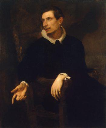 Portrait of a Man (Virginio Cesarini ) | Anthony van Dyck | oil painting