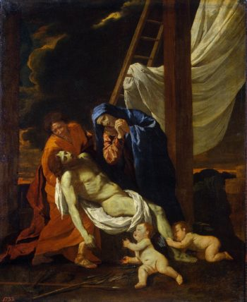 Descent from the Cross | Poussin Nicolas | oil painting