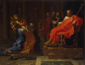 Esther before Ahasuerus | Poussin Nicolas | oil painting