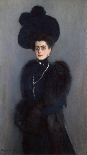 Portrait of Maria Abamelek-Lazareva | Bogdanov-Belsky Nikolai Petrovich | oil painting