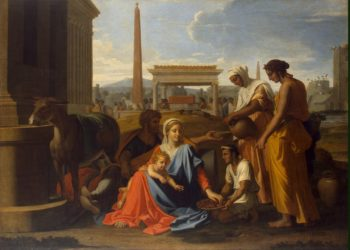 Holy Family in Egypt | Poussin Nicolas | oil painting