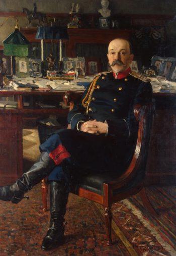 Portrait of the Adjutant-General P. P. Gesse | Bogdanov-Belsky Nikolai Petrovich | oil painting