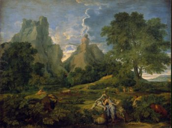 Landscape with Polyphemus   Poussin Nicolas   oil painting