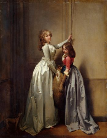 At the Entrance | Boilly Louis-Leopold | oil painting