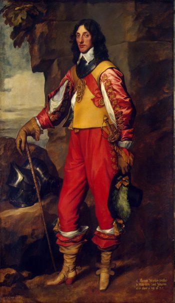 Portrait of Sir Thomas Wharton | Anthony van Dyck | oil painting