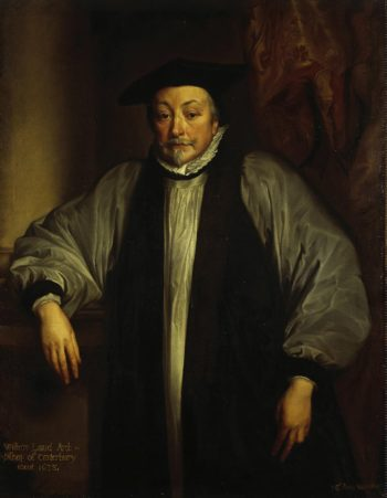 Portrait of William Laud Archbishop of Canterbury | Anthony van Dyck | oil painting
