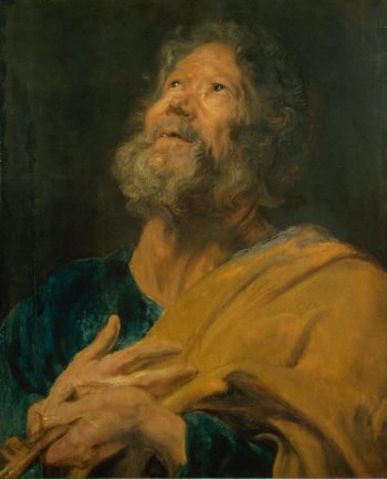 St Peter | Anthony van Dyck | oil painting