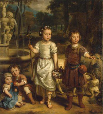 Children in a Park | Eeckhout Gerbrandt Jansz van den | oil painting