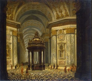 Interior of a Church | Ehrenberg Wilhelm van | oil painting
