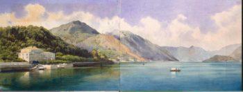 View of Lake of Geneva | Premazzi Luigi | oil painting