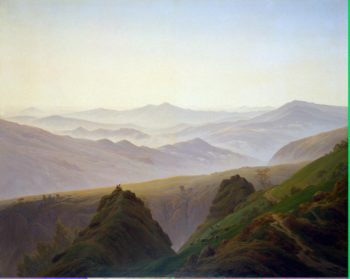 Morning in the Mountains | David Friedrich Caspar | oil painting