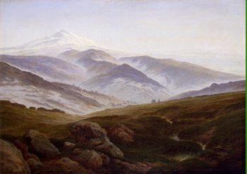 Riesengebirge (Memories of the Riesengebirge ) | David Friedrich Caspar | oil painting