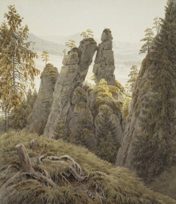 The Rock Gates in Neurathen | David Friedrich Caspar | oil painting