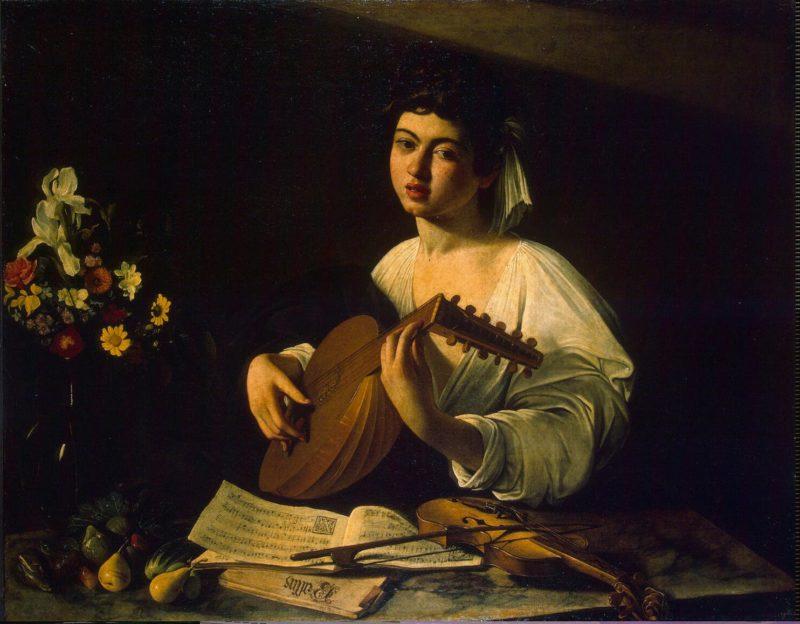 Lute-Player   Caravaggio Michelangelo Merisi da   oil painting