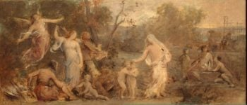 Allegory of Life | Puvis de Chavannes Pierre | oil painting