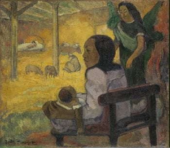 Be Be (The Nativity) | Paul Gauguin | oil painting