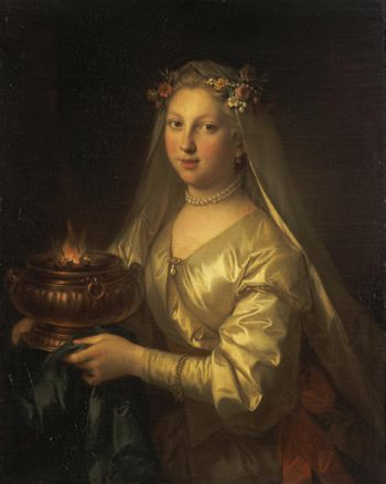 Vestal Virgin | Raoux Jean | oil painting