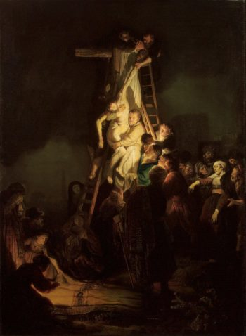 Descent from the Cross | Rembrandt | oil painting
