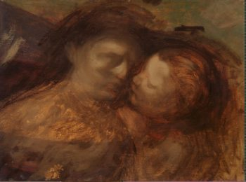 Mother and Child | Carriere Eugene | oil painting