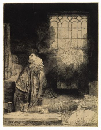Doctor Faustus | Rembrandt | oil painting