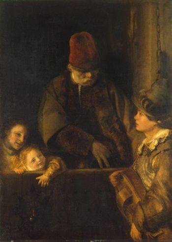 Wandering Musician | Gelder Aert de | oil painting