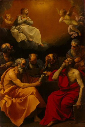 Fathers of the Church Disputing the Dogma of the Immaculate Conception | Reni Guido | oil painting