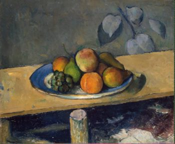 Apples Peaches Pears and Grapes | Cezanne Paul | oil painting