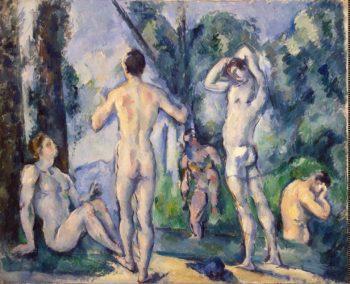 Bathers | Cezanne Paul | oil painting