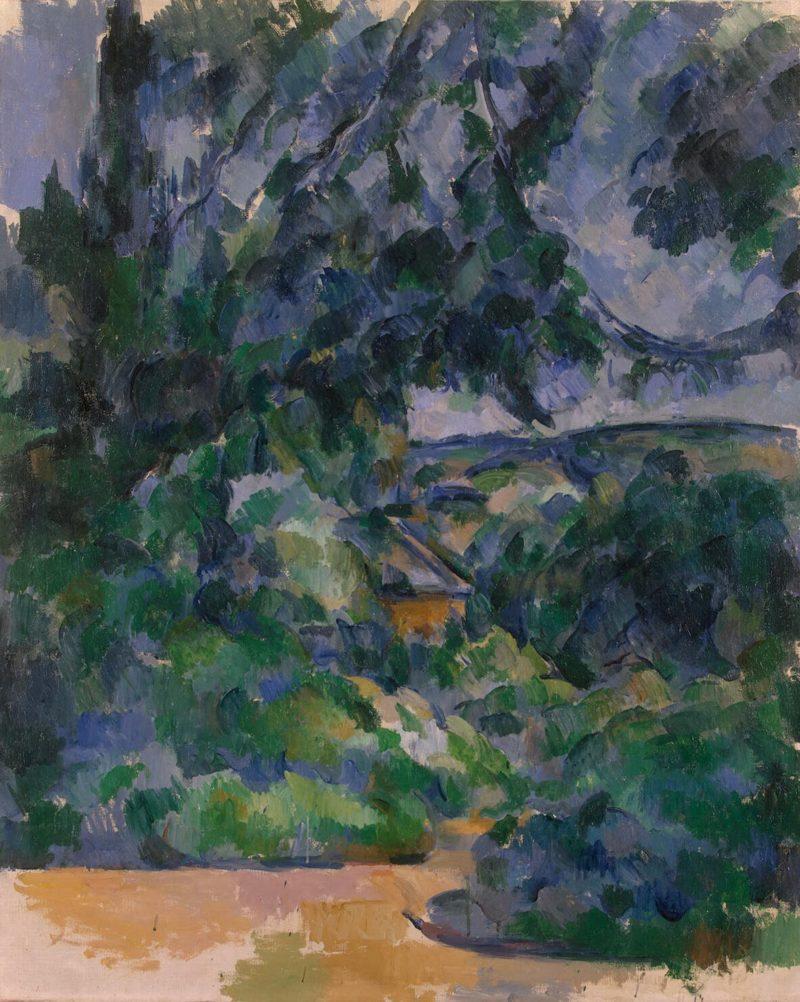 Blue Lanscape | Cezanne Paul | oil painting