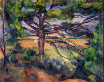Great Pine near Aix | Cezanne Paul | oil painting