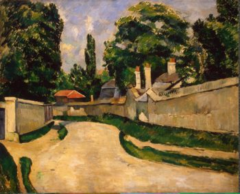Houses Along a Road | Cezanne Paul | oil painting
