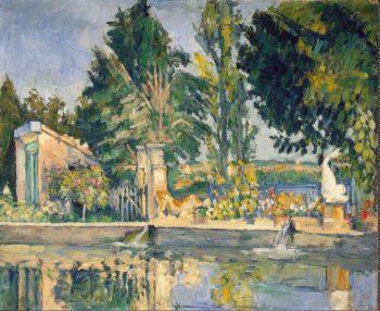 Jas de Bouffan the Pool | Cezanne Paul | oil painting