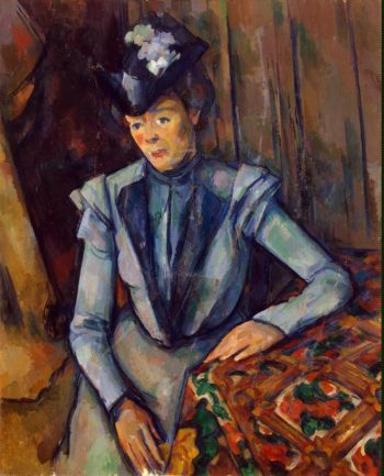 Lady in Blue | Cezanne Paul | oil painting