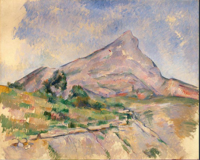 Mont Sainte-Victoire | Cezanne Paul | oil painting