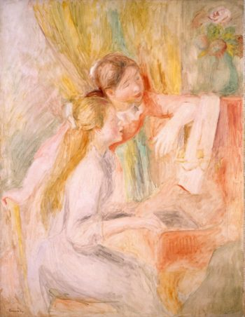 Young Girls at the Piano | Pierre-Auguste Renoir | oil painting