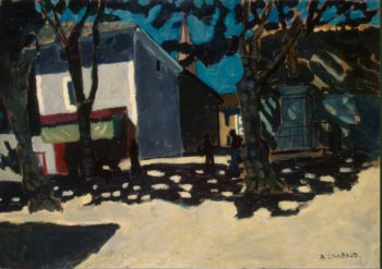 Village Landscape | Chabaud Auguste | oil painting
