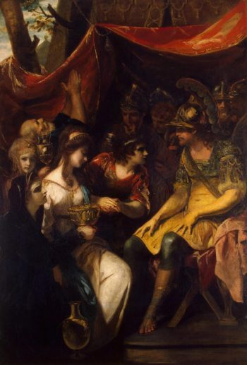 Continence of Scipio | Reynolds Joshua | oil painting