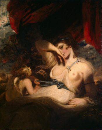 Cupid Untying the Zone of Venus | Reynolds Joshua | oil painting
