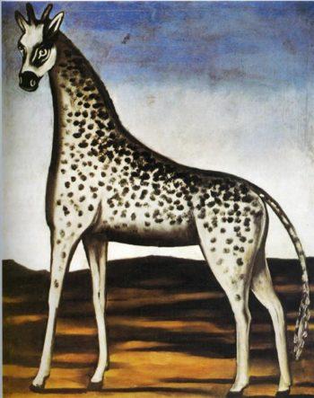 Giraffe | Niko Pirosman | oil painting
