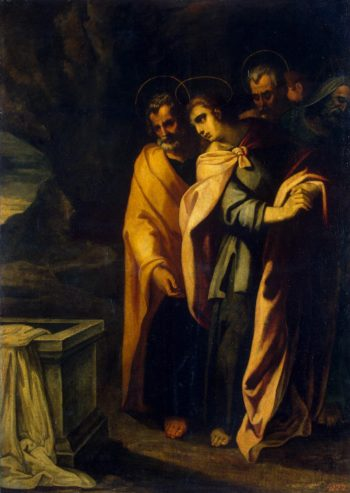 Apostles at a Christs Tomb | Ribalta Francisco | oil painting