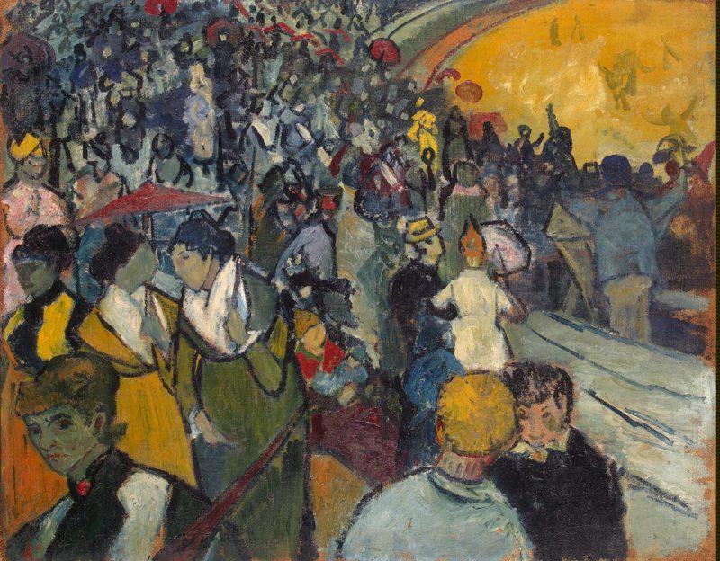 Arena at Arles | Vincent van Gogh | oil painting