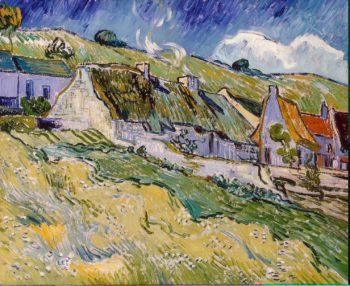 Cottages | Vincent van Gogh | oil painting