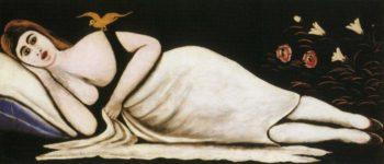 Ortachali Beauty   Niko Pirosman   oil painting