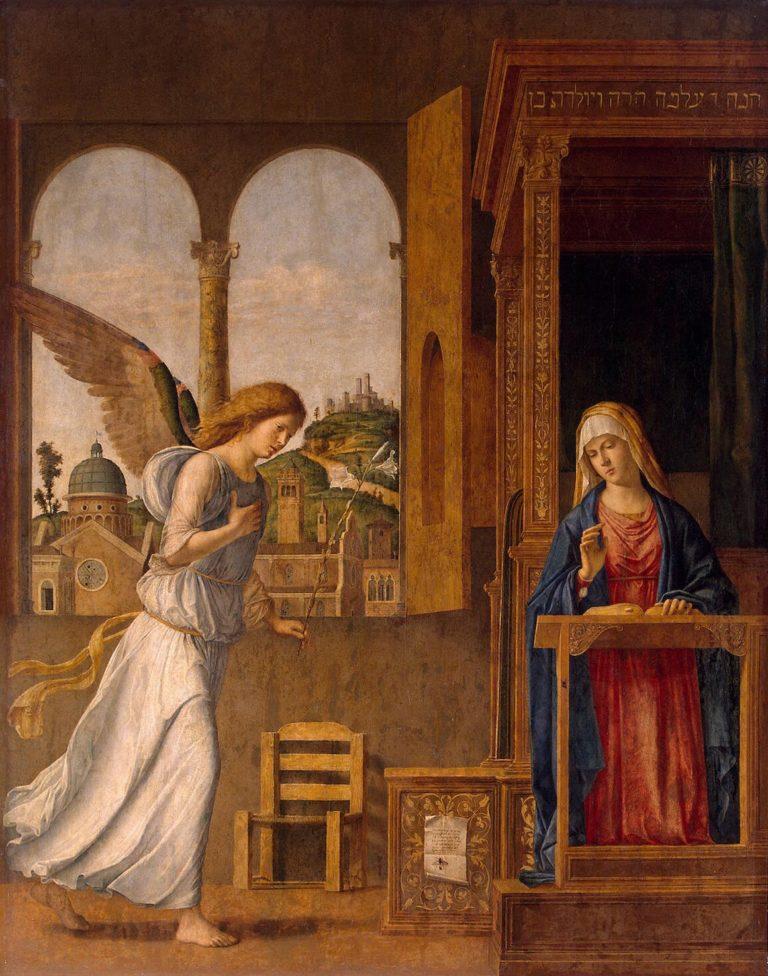 Annunciation | Cima da Conegliano Giovanni Battista | oil painting