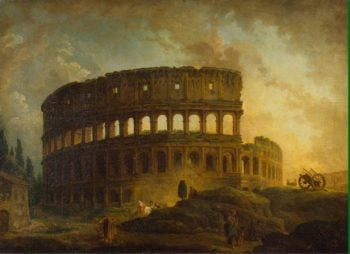 Colosseum | Hubert Robert | oil painting