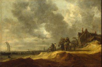 Shore at Scheveningen   Goyen Jan van   oil painting