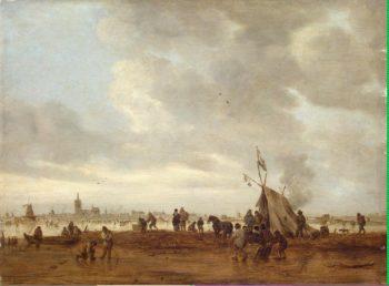 Winter Scene near The Hague | Goyen Jan van | oil painting